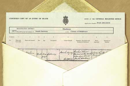 birth, marriage & death certificates – hold your family history in ...