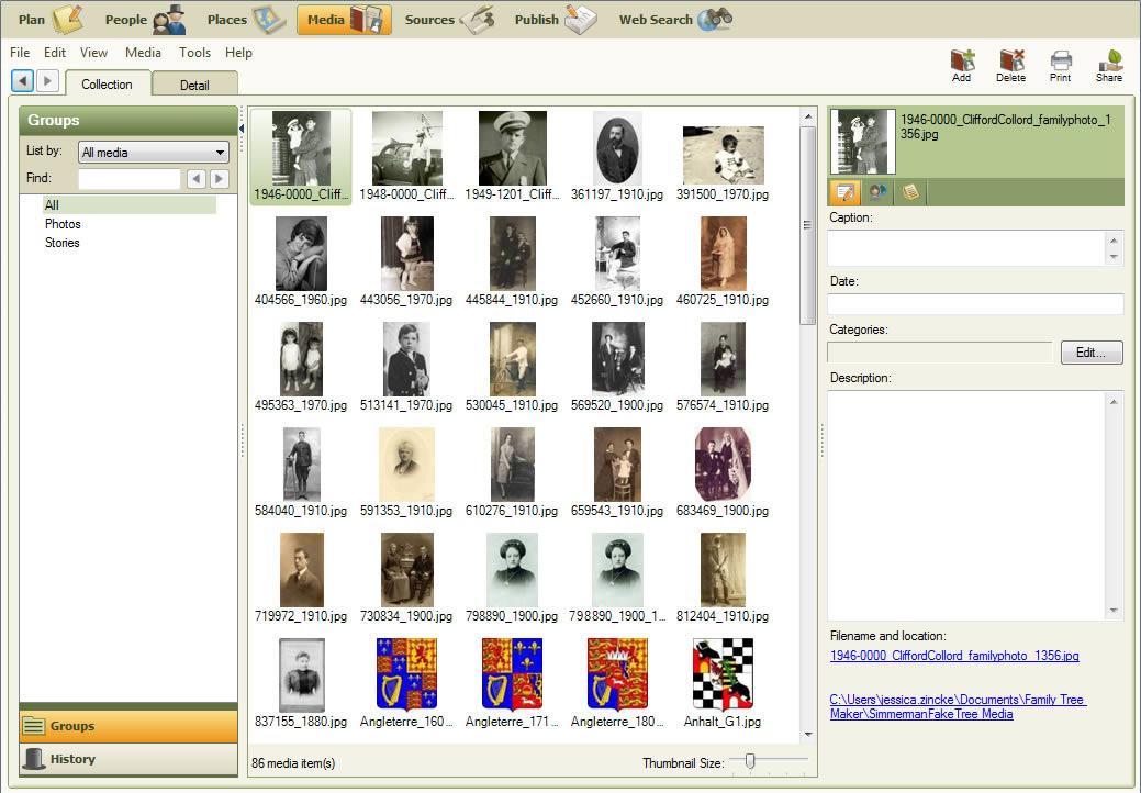 Family Tree Maker 174 2011 Family History Software